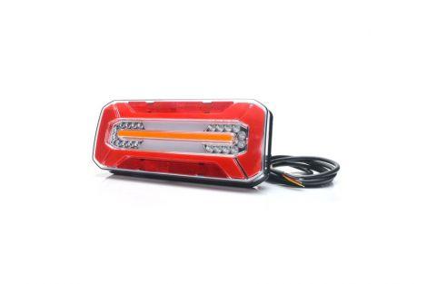 Lampa zespolona tylna W185DD LED 12V/24V  bez oświetlenia tablicy i światła pozycyjnego bocznego