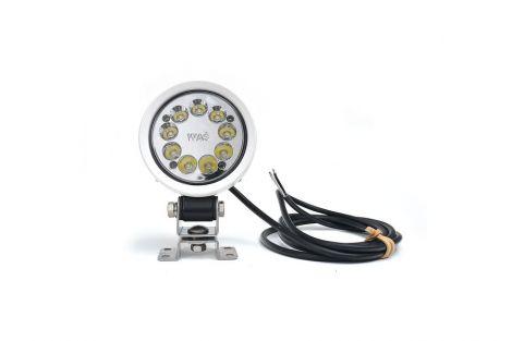 Lampa robocza W163 5000 (9 LED) 12V-70V, Światło skupione, z przewodem