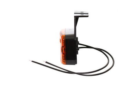 Lampa zespolona pozycyjna boczna, 12V-24V + przewody 22cm LgY-S 0,75mm2, diody