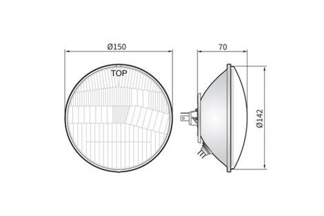 Element optyczny H4