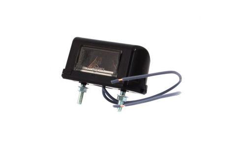 Lampa oświetlenia tablicy rejestracyjnej, jednofunkcyjna + przewody 17cm LgY-S 0,75mm2