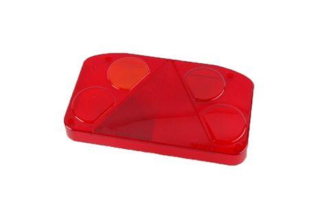 Klosz lampy zespolonej z trójkątem odblaskowym  HOR68 (lewy bez światła cofania )