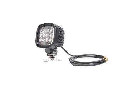 Lampa robocza LED (światło rozproszone), jednofunkcyjna, 12V-24V + przewody 250cm YLY-S 2x1,5mm2, diody