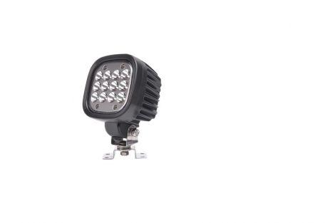 Lampa robocza LED (światło skupione), jednofunkcyjna, 12V-24V + przewody 250cm YLY-S 2x1,5mm2, diody