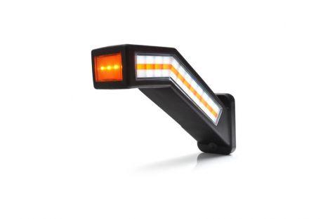 Lampa zespolona przednio-tylno-boczna i kierunku jazdy W168.9DD 12V/24V LED prawa