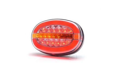 Lampka zespolona pozycyjna tylna ,kierunku jazdy i hamowania W205D 12V/24V LED