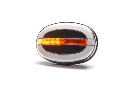 Lampa zespolona pozycyjna przednia i kierunku jazdy W204DD 12V/24V LED
