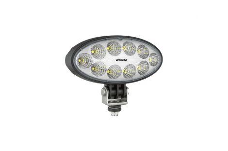 Lampa robocza LEDF 4000lm 12/24V + złącze DT04-2P