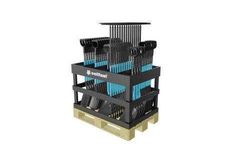 ^Drewniany paletowy stojak na narzędzi do kopania (cena przy zakupie zestawu)^