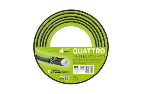Wąż ogrodowy QUATTRO 1/2 15m