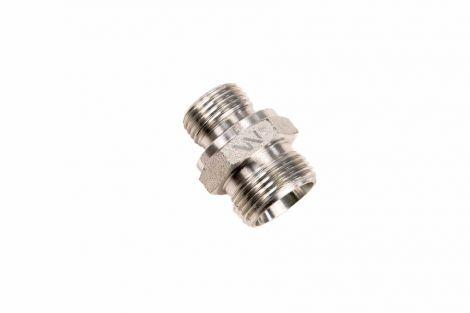 Przyłączka hydrauliczna BB (XGE) M22x1.5 15L x M18x1.5 ED WARYŃSKI