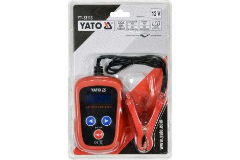 Tester Akumulatorów 12V LED YATO
