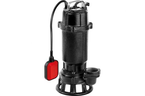 Pompa żeliwna 750w z frezem tnącym
