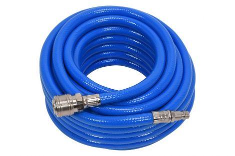 Wąż pneumatyczny PVC z szybkozłączem 8mmx10m