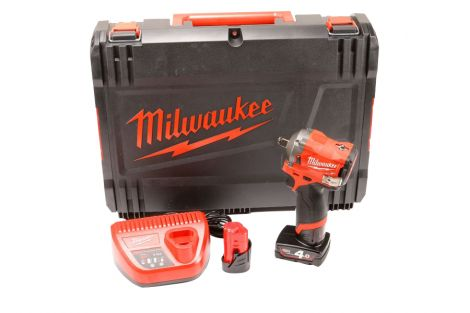 Klucz udarowy z pierścieniem zabezpieczającym M12 Milwaukee