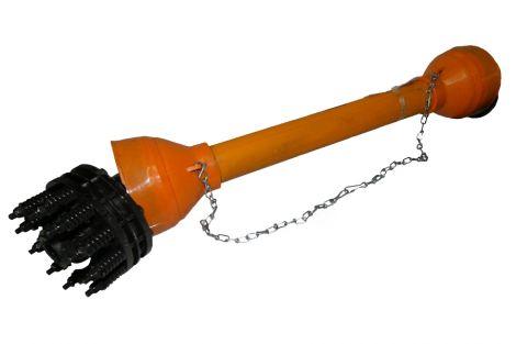 Wał sprzęgło cierne WPT-1200/SC-1 3/8-6 wypust Lmin-810,Lmax-1310