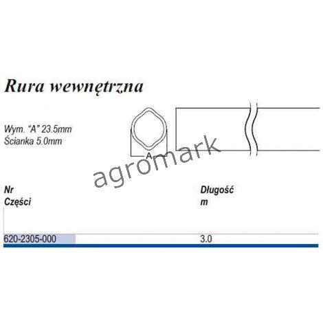 Rura ,cytryna D23  T-5 wew