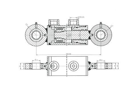 Siłownik hydrauliczny