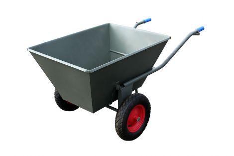 Wózek paszowy dwukołowy