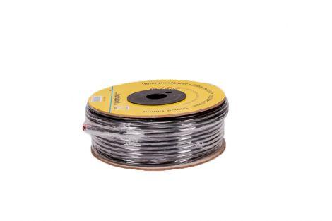 Kabel zasilający w podw.izolacji fi 1,6mm.kłębek 50 mb.