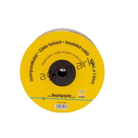 Kabel zasilający w podw.izolacji fi 1,6mm.kłębek 100mb.