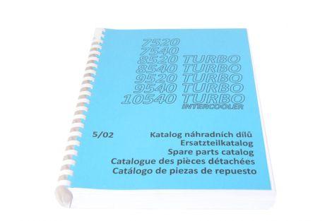 Katalog Zetor 7520-10540