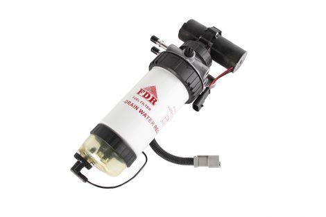 Filtr paliwa kpl. z pompka.JCB FDR