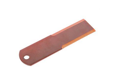 Nóż rozdrabniacza stały  195X50X3mm. Fi-12mm.RASSPE