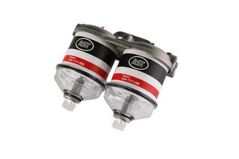 Filtr paliwa kpl.  IN M14X1.5   OUT M14X1.5 AST